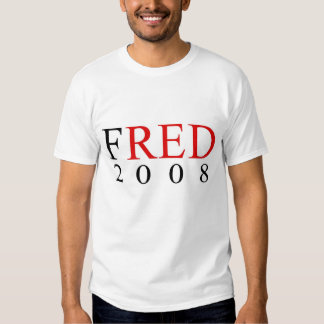FRED THOMPSON FOR PRESIDENT T-SHIRTS