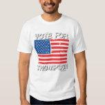FRED THOMPSON FOR PRESIDENT TSHIRTS