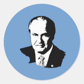 Fred Thompson Gear Round Sticker