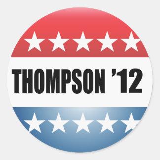 FRED THOMPSON STICKER