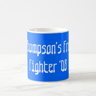 Fred Thompson's Freedom Fighter '08 Classic White Coffee Mug
