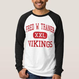 Fred W Traner - Vikings - Middle - Reno Nevada T-Shirt