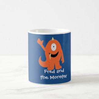 Fred y la taza del monstruo (monstruo)