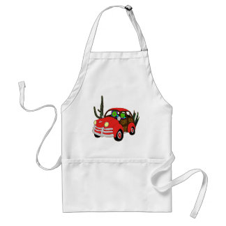 Freda and Freddie Frog Head Out Adult Apron