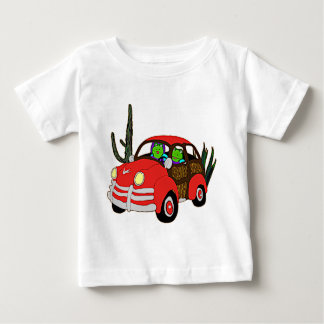 Freda and Freddie Frog Head Out Baby T-Shirt
