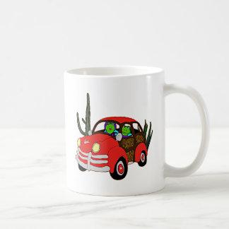 Freda and Freddie Frog Head Out Coffee Mug
