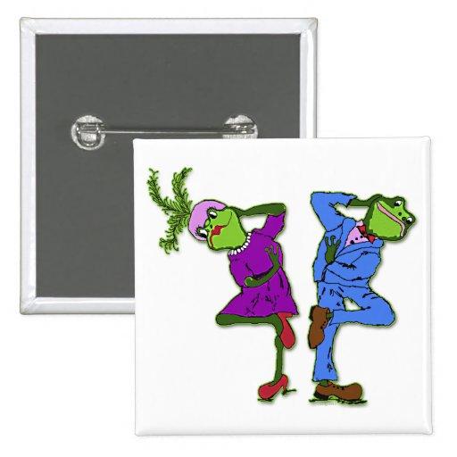 Freda y Freddie Bop Pin
