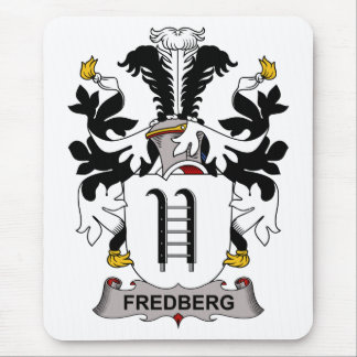 Fredberg Family Crest Mouse Pad