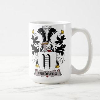 Fredberg Family Crest Classic White Coffee Mug