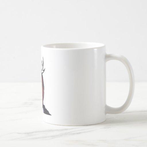 Freddie Antlered Tazas De Café