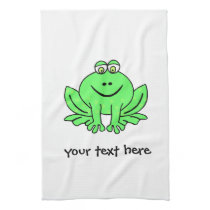 Freddie Frog Kitchen Towel
