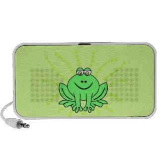 Freddie Frog Travelling Speakers
