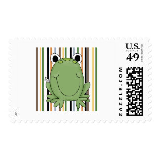 Freddie Frog Tshirts and Gifts Postage Stamps