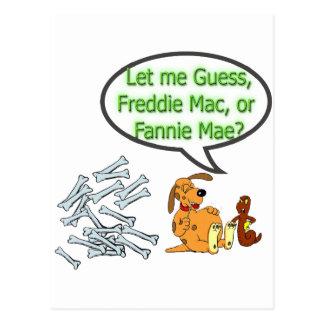 Freddie Mac or Fannie Mae Postcard