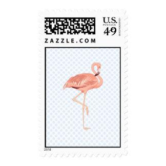 Freddy Flamingo Postage Stamps