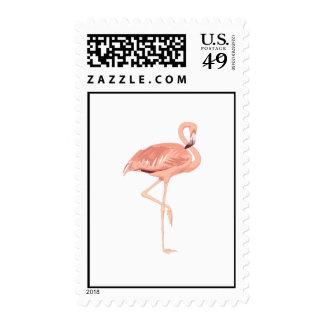 Freddy Flamingo Postage Stamp