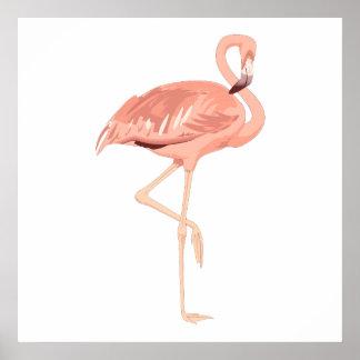 Freddy Flamingo Print