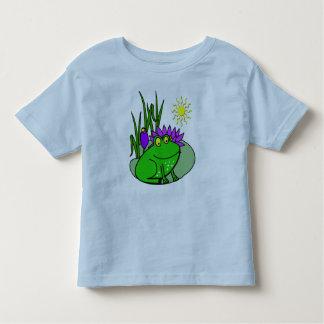 Freddy la rana - en la camiseta de Lilly de un Playera