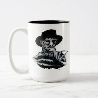 FREDDY Two-Tone COFFEE MUG