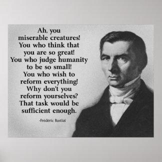Frederic Bastiat Reform Poster