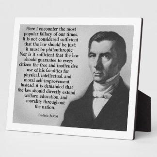Frederic Bastiat The Law Photo Plaques