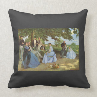 Frederic Bazille- Family Reunion Pillows