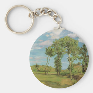 Frederic Bazille- Landscape on the Shore of Lez Key Chains