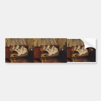 Frederic Bazille- The Improvised Field-Hospital Car Bumper Sticker
