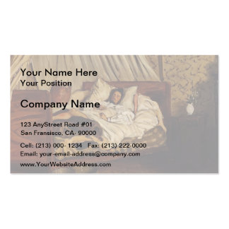 Frederic Bazille- The Improvised Field-Hospital Double-Sided Standard Business Cards (Pack Of 100)