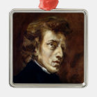 Frederic Chopin  1838 Metal Ornament