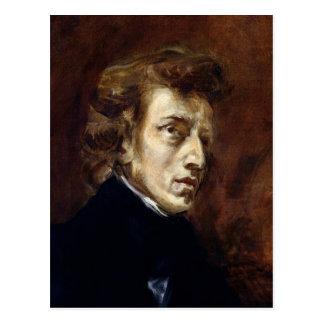 Frederic Chopin  1838 Postcard