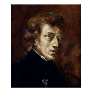 Frederic Chopin  1838 Poster