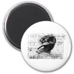 Frederic Chopin 2 Inch Round Magnet
