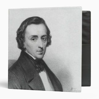Frederic Chopin, after Ary Scheffer 3 Ring Binder