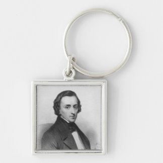 Frederic Chopin, after Ary Scheffer Keychain