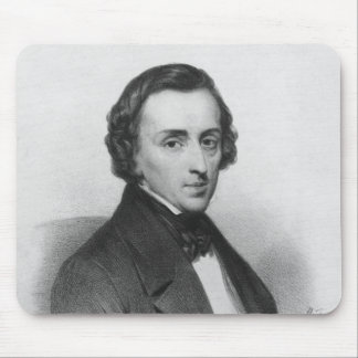 Frederic Chopin, after Ary Scheffer Mouse Pad