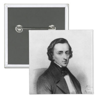 Frederic Chopin, after Ary Scheffer Pinback Button