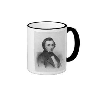 Frederic Chopin, after Ary Scheffer Ringer Mug