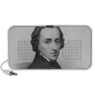 Frederic Chopin, after Ary Scheffer Mp3 Speakers