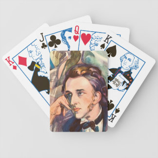 Frederic Chopin Composer Musician Portrait Famous Bicycle Playing Cards
