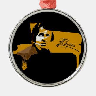 Frederic Chopin Metal Ornament