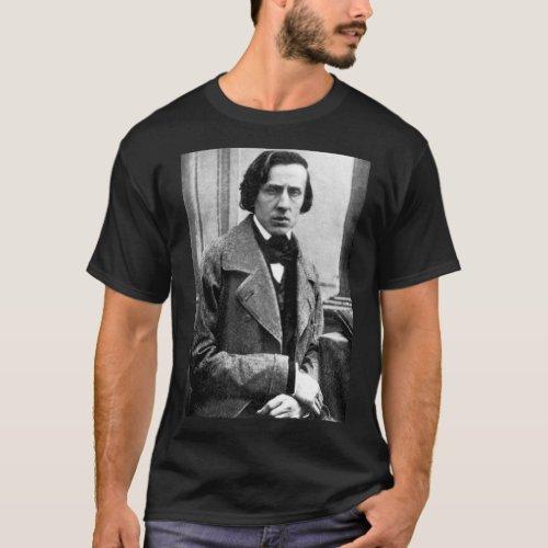 Frederic Chopin Pianist Piano T_Shirt