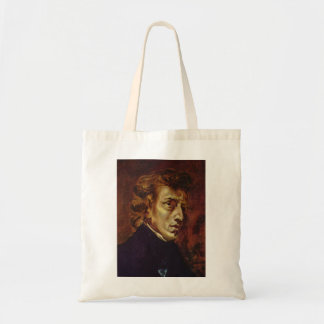 Frederic Chopin Portrait by Eugene Delacroix Tote Bag