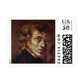 Frédéric Chopin Portrait Postage