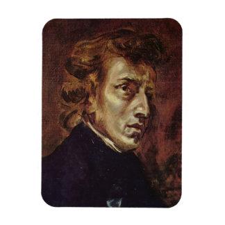 Frédéric Chopin Portrait Flexible Magnets