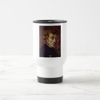 Frédéric Chopin Portrait Travel Mug