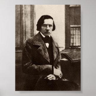 Frédéric Chopin Póster