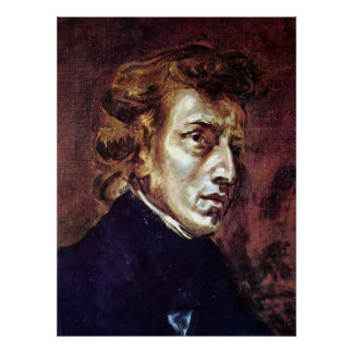 Frederic Chopin Poster