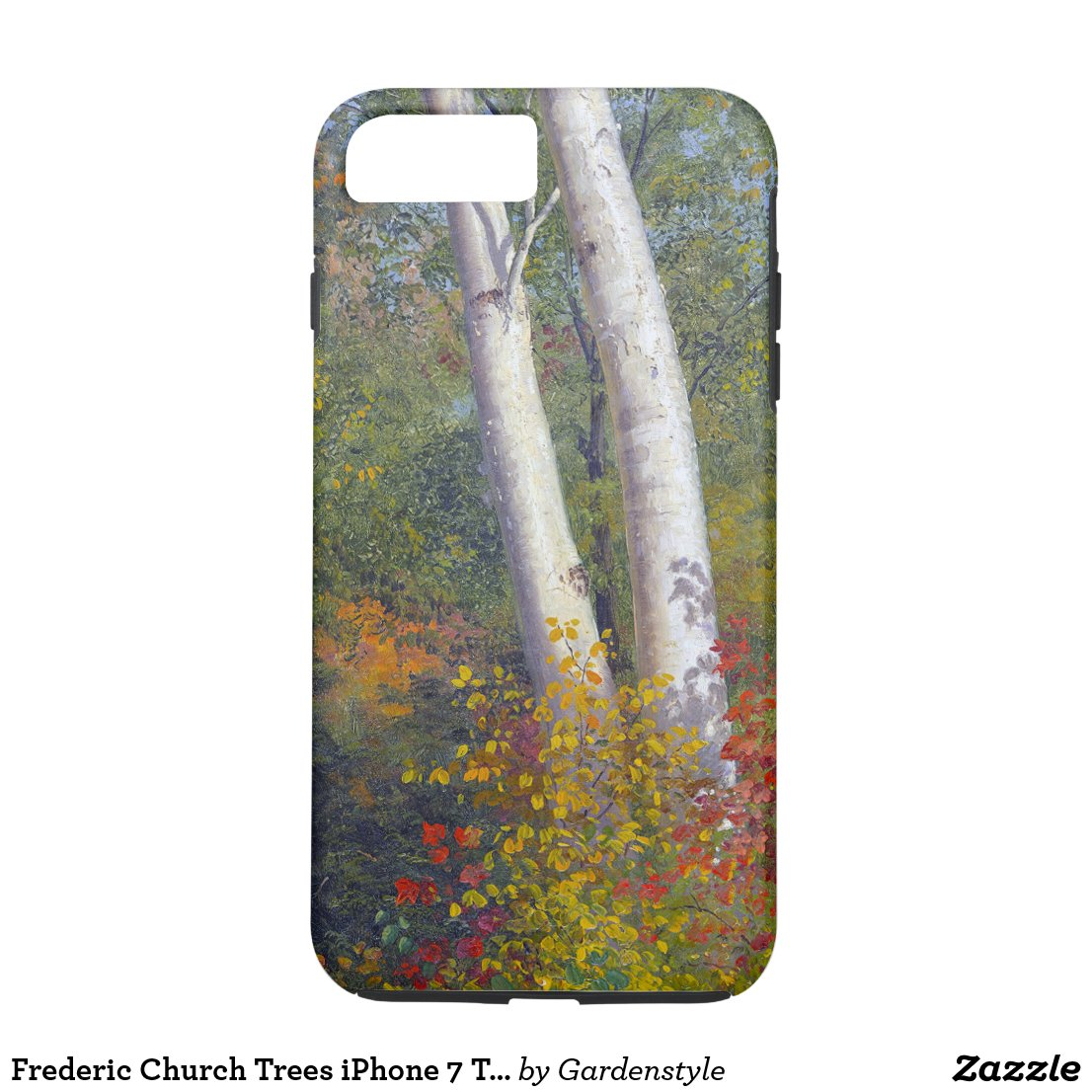 Frederic Church Trees iPhone 7 Tough Phone Case
