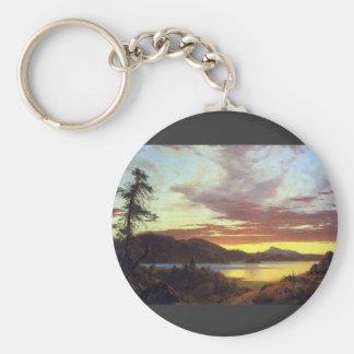 Frederic Edwin Church - A Sunset Keychains